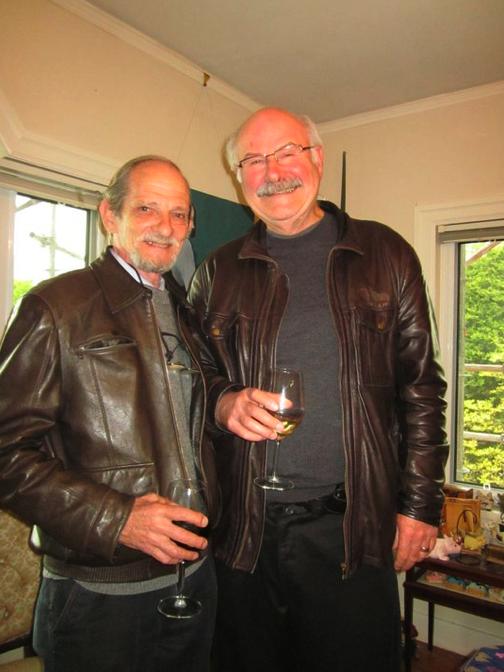 Marwyn Samuels and PlaceSpeak Board President Michael Harcourt
