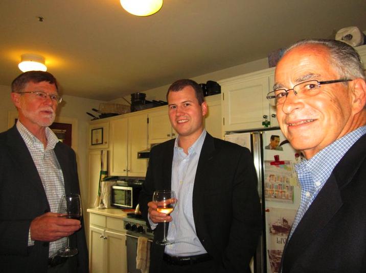 PlaceSPeak CFO, Murray Swales, Advisor, Justen Harcourt, and Board member Ken Cameron