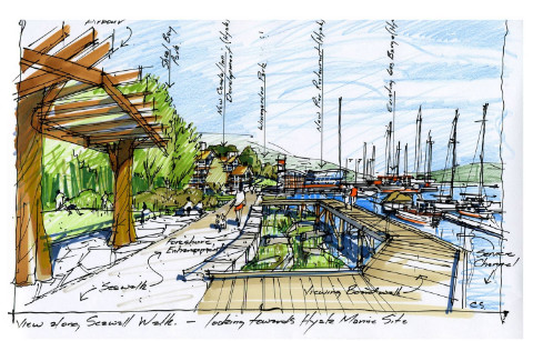 Gibsons Harbour Area Plan Village Waterfront