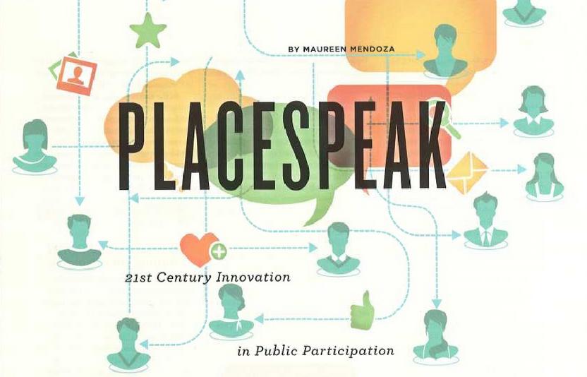 PlaceSpeak: 21st Century Innovation in Public Participation