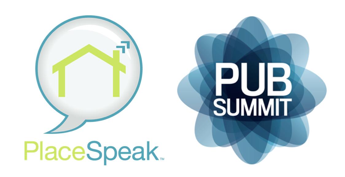 PlaceSpeak Pub Summit