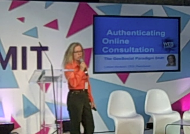 Colleen Hardwick at Web Summit