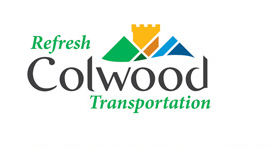 Refresh Colwood Transportation logo