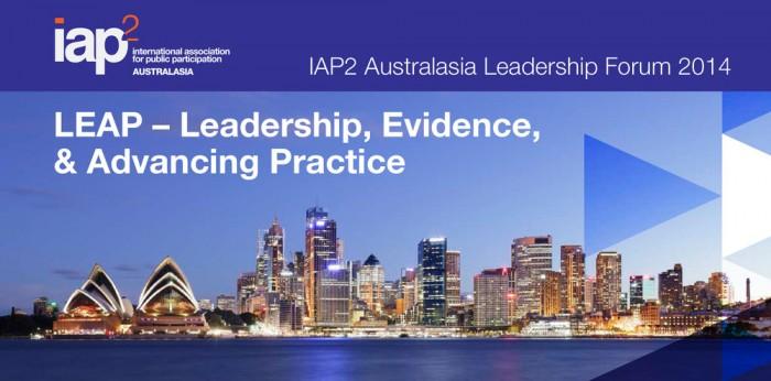 IAP2 Australasia 2014